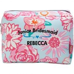 Junior Bridesmaid Cosmetic Makeup Bag
