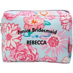 Junior Bridesmaid Cosmetic Makeup Bag