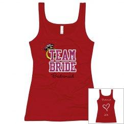 bridesmaid back