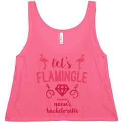Cute Custom Neon Let's Flamingle