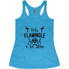 Custom Date Let's Flamingle