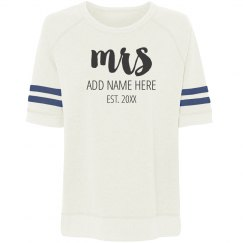 Custom Mrs Name Design