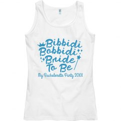 Custom Bibbidi Bobbidi Bride To Be