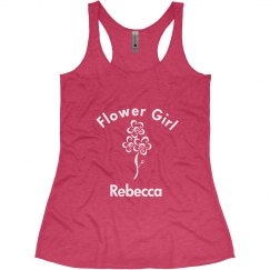 Flower Girl Tank Top
