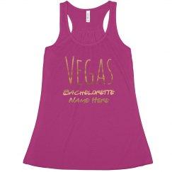 Gold Metallic Vegas Bachelorette