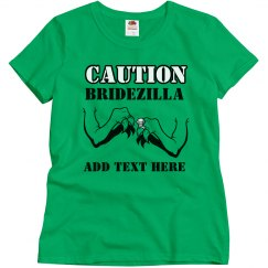 Caution Bridezilla