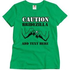Caution Bridezilla