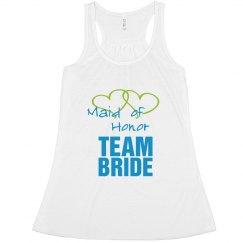 Maid of Honor team bride