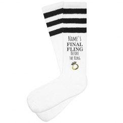 Custom Final Fling Socks