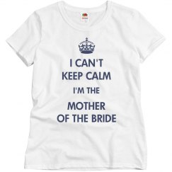 Keep Calm For The Bride