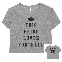 Custom Football Bride