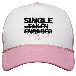 BRIDESMAID SINGLE HAT