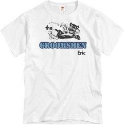 Groomsman Tee w/Back