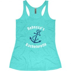 Nautical Bachelorette Tank Top