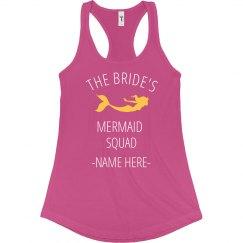 Bride's Mermaid Squad