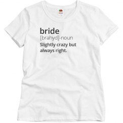 Definition Of Bride