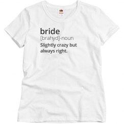 Definition Of Bride