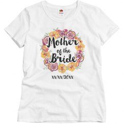 Trendy Floral Mother Of The Bride