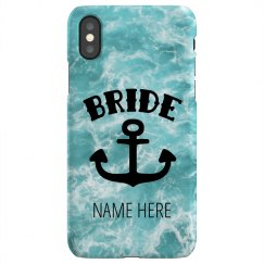 Tropical Ocean Bride Design