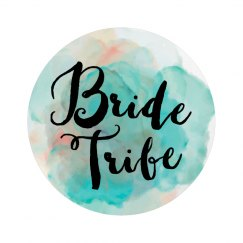 Bride Tribe Button with Pin