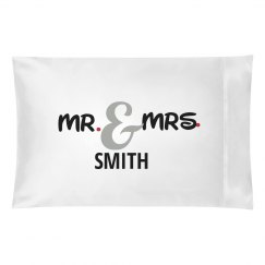 Mr. & Mrs. Pillow Cases