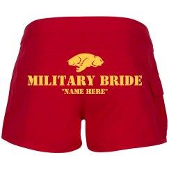 Military Love Bride