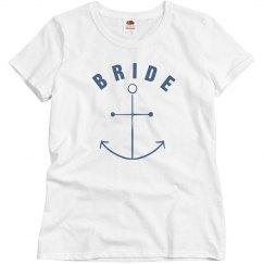 Bride With Anchor