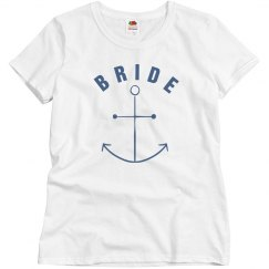 Bride With Anchor