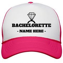 Bachelorette Diamond Custom Name