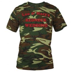 Redneck Wedding Camo Tee