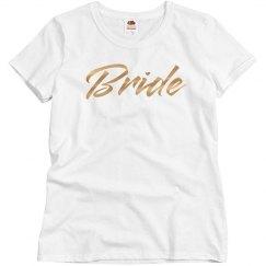 Shiny Metallic Bride