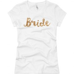 Gold Metallic Bride
