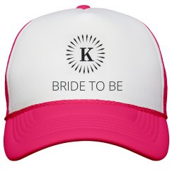 Bride To Be Initial