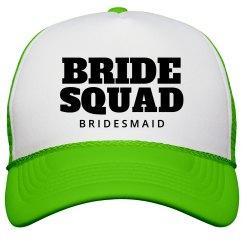 Bride Squad Bachelorette Neon