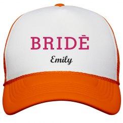 Bride Trucker Hats
