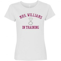 Mrs. Williams In Training