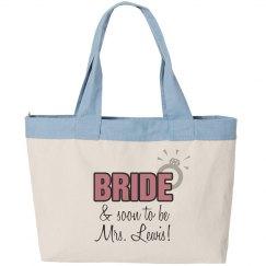 Bride Beach Tote
