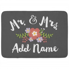 Mr. & Mrs. Custom Name Gift