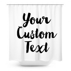 Custom Script Text Gift