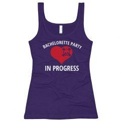 Bachelorette In Progress