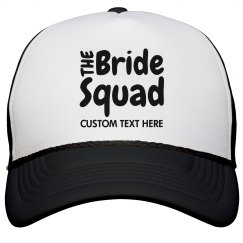 Custom Bride Squad Snap Back