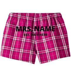 Custom Mrs Established Date PJ's