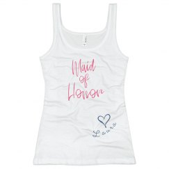 Maid of Honor Tank top