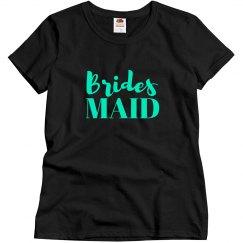 Blue Bridesmaid Pretty Tshirt