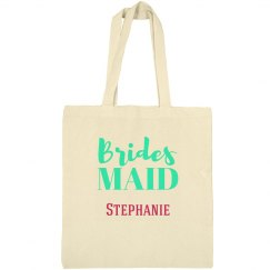 Blue Bridesmaid Tote