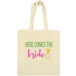 Here Comes Bride Tote