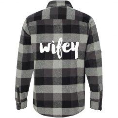 Wifey Flannel Shirt