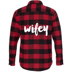 Wifey Flannel Shirt