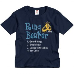 Ring Bearer List Tee