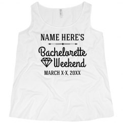 Plus Size Custom Bachelorette Weekend
